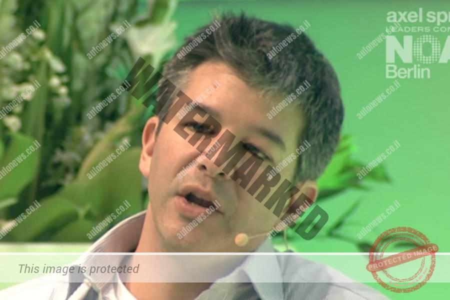 טראביס קלאניק, הבוס של אובר. נאלץ לפרוש מהפורום המייעץ לטרמאפ (צילום מסך)