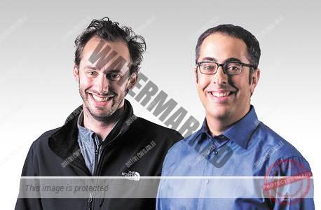 """אתנוני לוונדובסקי (משמאל) וליאור רון, מייסדי Otto. האם הם 'עקצו' את Waymo? (יח""""צ)"""