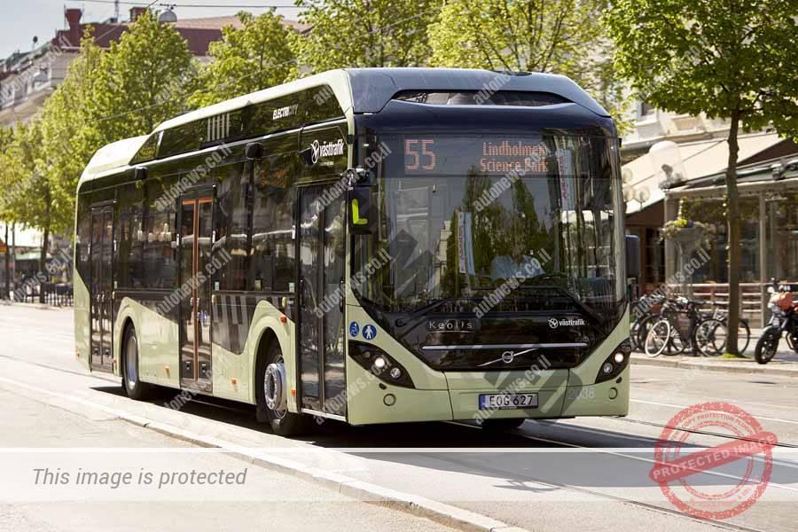 אוטובוס הייבריד חשמלי של וולבו דגם 7900 (וולבו)