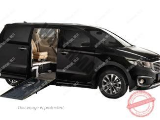 רמפת עלייה למכונית מריצפה מונמכת (היידרופיקס)