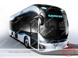 """האוטובוס החשמלי של יונדאי Elec City, מצבר 256 קו""""ש, טווח 290 ק""""מ (יונדאי)"""