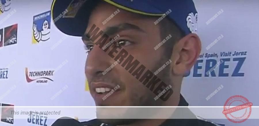 ניסני בראיון מיד אחרי המרוץ (צילום מסך)