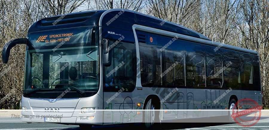 אוטובוס הייברידי של מאן (מאן)