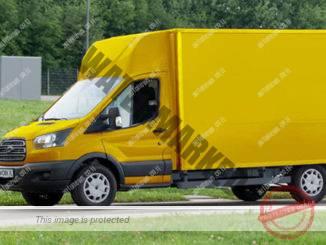 החוואן החשמלי, E-Van שפורד ו-DHL מפתחות (DHL)