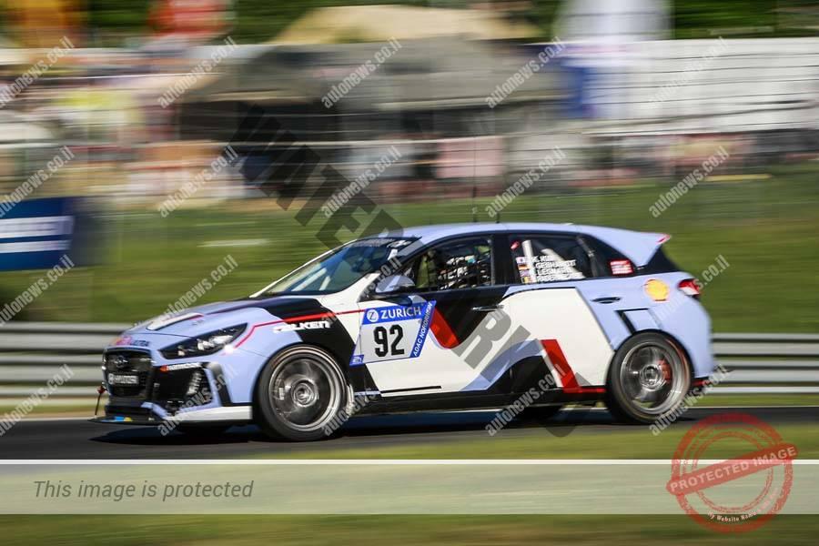 יונדאי i30 N במרוץ 24 השעות של נרבורגרינג, שער הכניסה לשוק הרכב האירופי (יונדאי)