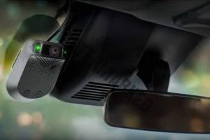 המצלמות של Nauto מותקנות על השימשה הקדמית (Nauto)