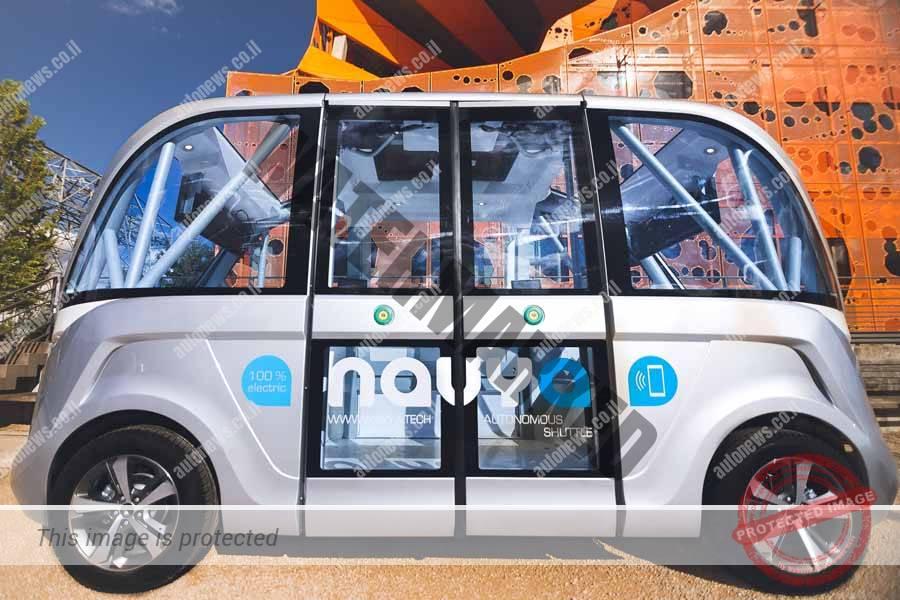 נאווייה ארמה, שאטל חשמלי אוטונומי בדרך לפריסה גלובלית (NAVYA)