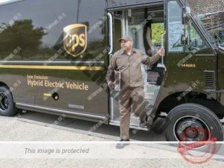 וואן שילוח הייבריד חשמלי של UPS (יו.פי.אס)