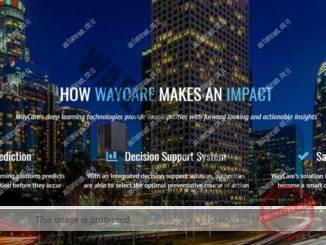 Waycare, צופה את תאונות הדרכים (צילום מסך, אתר החברה)