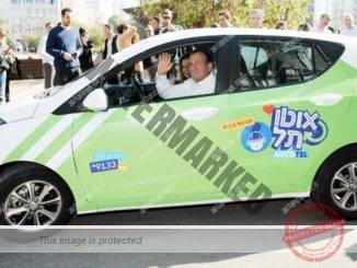 """רון חולדאי, ראש עיריית ת""""א-יפו במכונית אוטותל (יח""""צ, כפיר סיון)"""