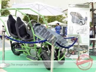 'הגר' הרכב התלת גלגלי החשמלי של מכללת אפקה (ניר שובל)