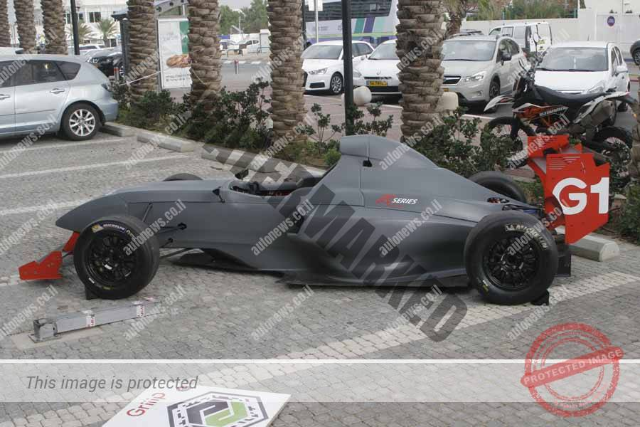 מכונית מרוץ חד מושבית של Griiip (אוטוניוז)