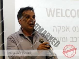 משה וייצמן, מנהל אגף הרכב במשרד התחבורה, מדבר בכנס באפקה (אוטוניוז)
