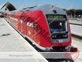 """קטר רכבת בתחנת באר שבע מרכז (יח""""צ)"""