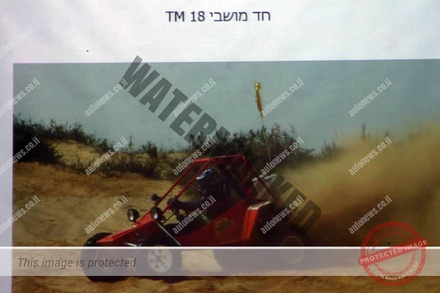 תומקאר TM18, כלי רכב ספורטיבי דו מושבי, מנוע והנעה מאחור