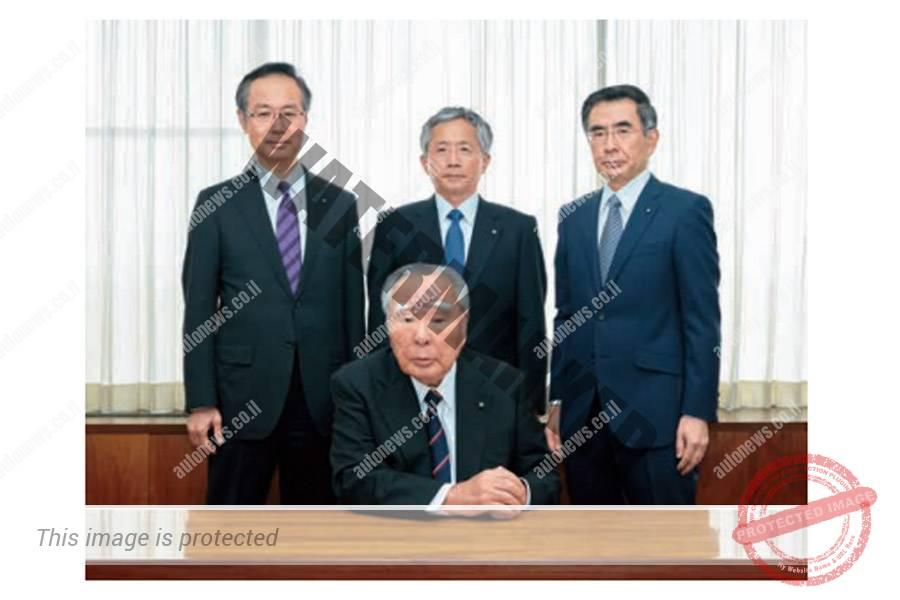 ההנהלה הבכירה של סוזוקי.