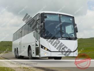 """אוטובוס ממוגן מדגם מארס-דיפנדר של """"מרכבים"""" (יח""""צ)"""