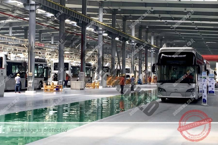 פס הייצור לאוטובוסים תאי דלק חשמליים (באלארד)