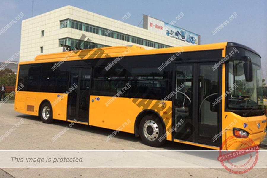 """אוטובוס חשמלי של הייגר פועל על סופר-קבלים (יח""""צ)"""