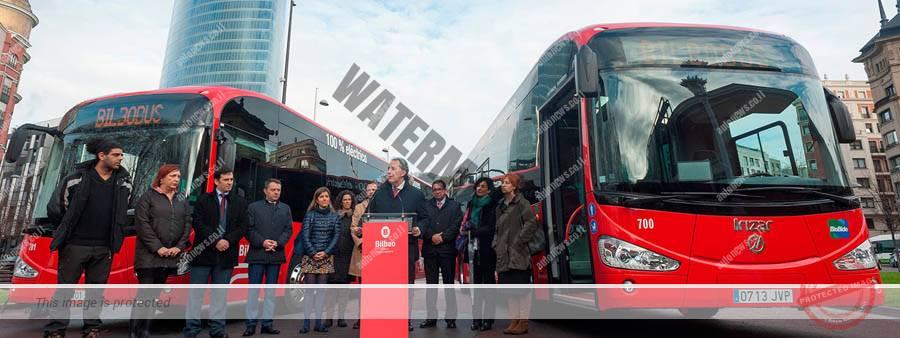 """הצגת האוטובוסים החשמליים של איריזאר בבילבאו (יח""""צ)"""