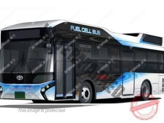 Toyota FC Bus, האוטובוס שישרת את משתתפי אולימפידת טוקיו (טויוטה)