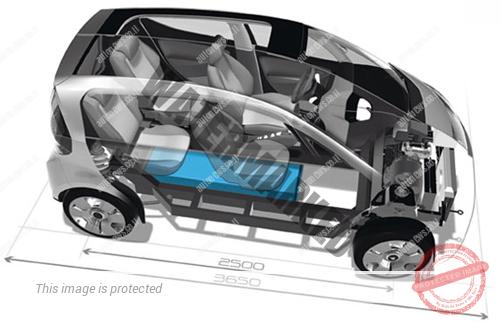 Bluecar, המכונית החשמלית של פרוייקט Autolib בפאריס (אוטוליב)