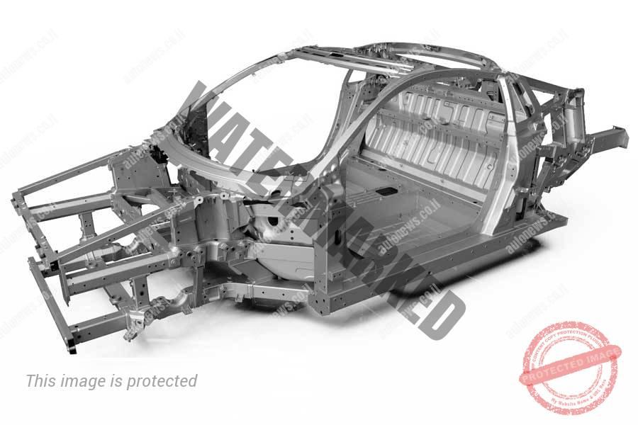 השאסי של ה-NSX (הונדה)