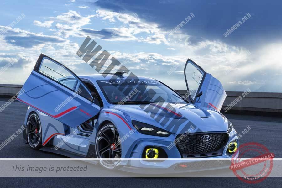 יונדאי RN30 קונספט, מכונית מרוצים קונספטואלית לשיפור תדמית המותג (יונדאי)
