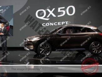 אינפינטי QX50 קונספט מוצגת בדטרויט (אינפיניטי)