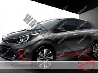 קיה פיקנטו דור 3. עיצוב מודרני יותר למכונית המיני (קיה)