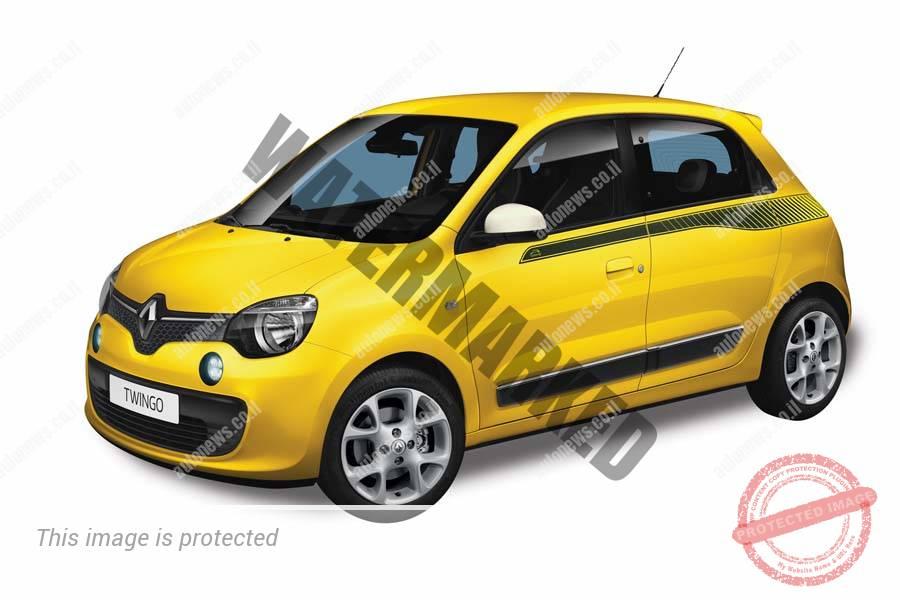 רנו טוינגו, מכונית קטנה עם מנוע אחורי והנעה אחורית (רנו)