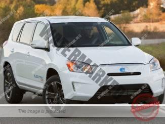 טויוטה ראב4 EV קונספט. הרכב הסדרתי שווק רק בשנים 2012-2014 (טויוטה)