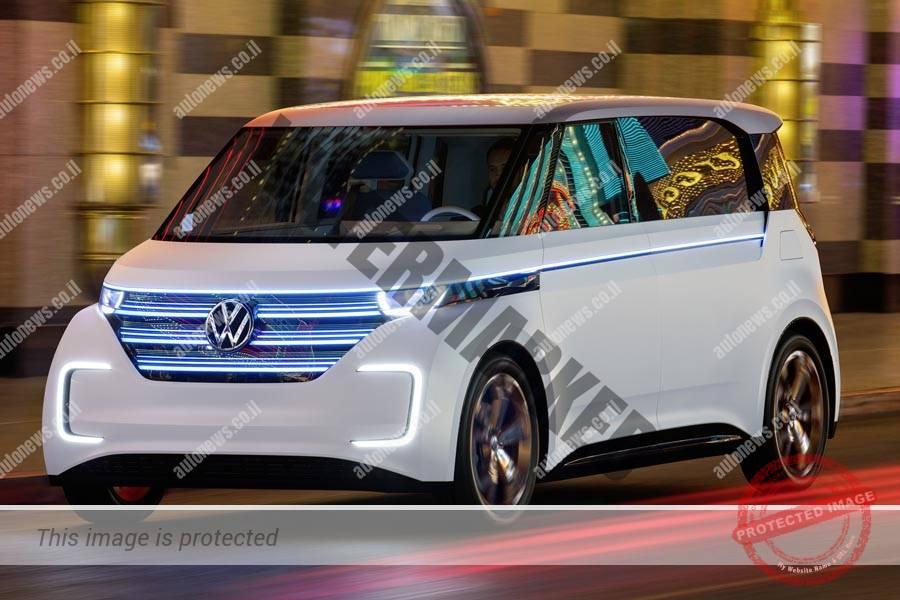 פולקסווגן Budd-e דגם קונספט חשמלי המבוסס על פלטפורמת ה-MEB המיועדת לכלי רכב חשמליים (פולקסווגן)