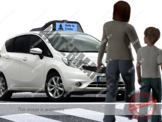 לימוד עמוק יאפשר תקשורת בין מכונית להולכי רגל (drive.ai)