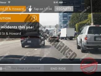 נקסאר אפליקציית נהיגה (צילום מסך)