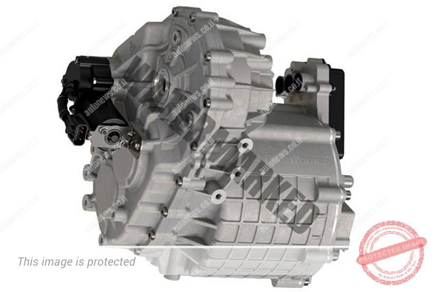 יחידת ה-eMD המשלבת מנוע חשמלי ומערכת תמסורת (BorgWarner)