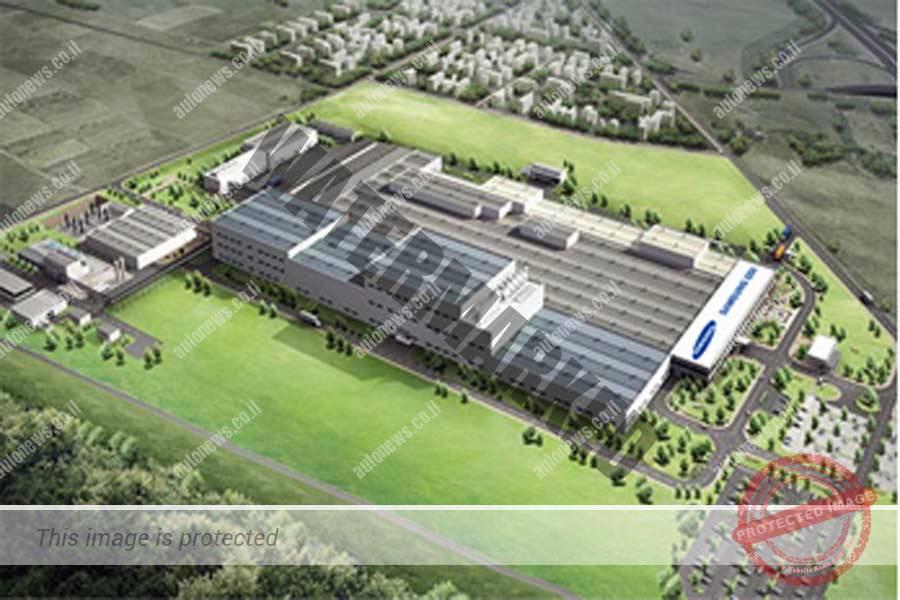 המפעל המתוכנן בהונגריה (סמסונג SDI)