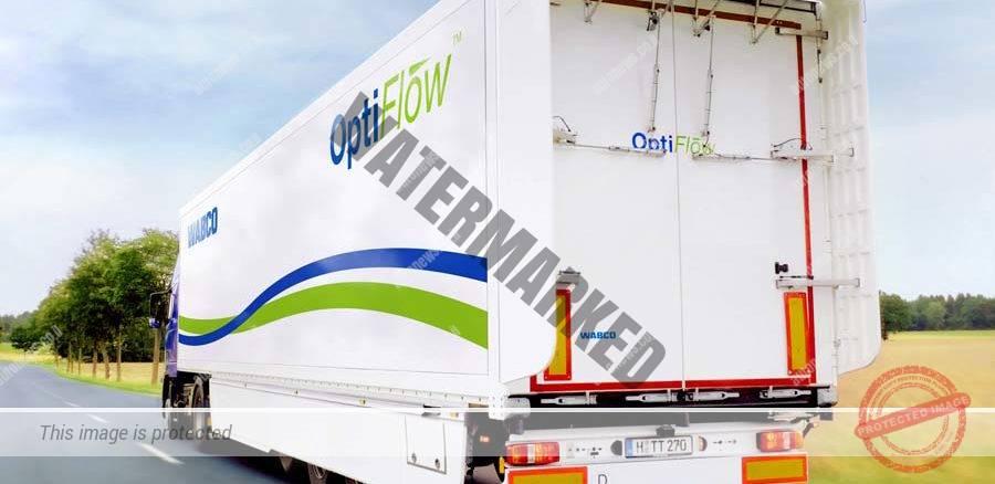 מערכת OptiFlow לשיפור זרימת אויר מעל נגררים (Wabco)