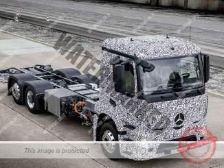 מרצדס משאית חשמלית