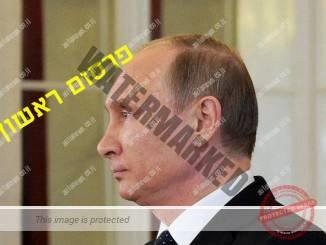 ולדימיר פוטין, נשיא רוסיה אתמול בקרמלין (הקרמלין)
