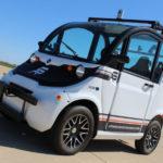 פולאריס GEM עם ציוד לנהיגה אוטונומית