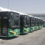 אוטובוסים חשמליים של BYD מחכים לפעולה