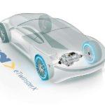 מערכת הנעה אחורית eTwinsterX בכלי רכב חשמלי (BEV)