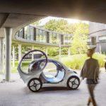Autonomes Konzeptfahrzeug smart vision EQ fortwo: So sieht das Carsharing der Zukunft aus
