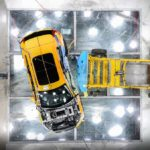 New Volvo XC40 - Crash Test side impact - from above