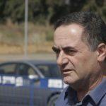 ישראל כץ, שר התחבורה, בילה כמה שעות בשטח
