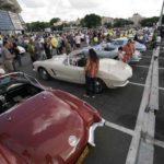 תצוגה ססגונית של מועדון הקורבט הישראלי עם מעל ל-80 מכוניות