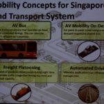 סוגי התחבורה האוטונומית בסינגפור
