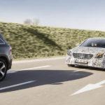 מבחן למרצדס S קלאס המחודש עם מערכות בטיחות חדשות