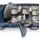 פולקסווגן Crossblue קונספט, הוצג בתערוכת דטרויט 2013, קרוסאובר עם שישה מושבים והנעת פלאג-אין הייבריד דיזל
